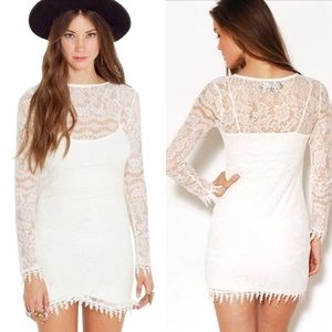 For love and lemons Scarlet mini dress